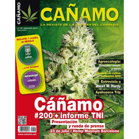 Revista Cáñamo 201